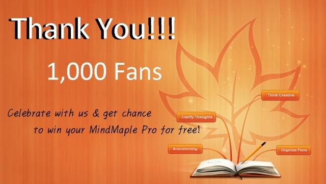 Thank you 1,000 Fans!